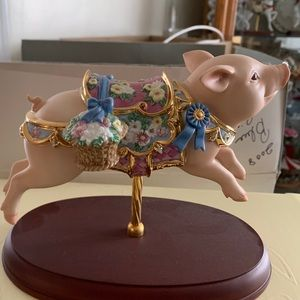 Lenox Carousel Collection • Pig 🐷 💙